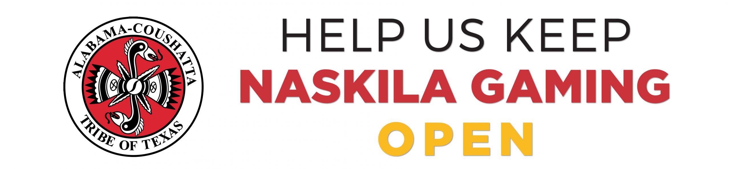 Help us keep Naskila Gaming open